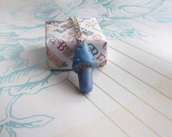 Fairy Toadstool Pendant Necklace