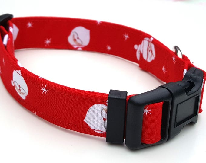 Red Santa ' Father  Christmas Dog Collar