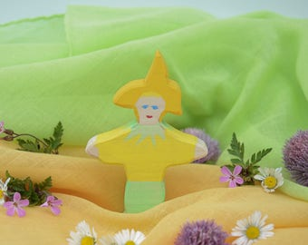 Flower Child Lily, Nature Table, Wooden Toys, Wood, Deco