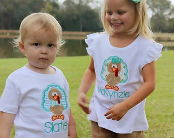 Thanksgiving OUTFIT sibling set
