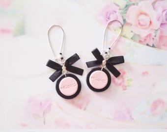 earrings sweet eyesshadow polymer clay