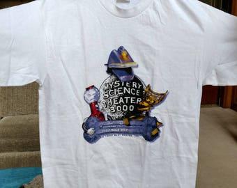 MST3K Mystery Science Theater 3000 Vintage T-shirt - NEW - UNUSED - Tom Servo, Crow T. Robot, Gypsy, Satellite of Love
