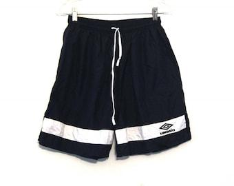 Vintage 90s Umbros shorts black soccer
