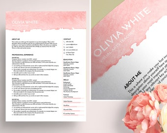 cv template ms word
