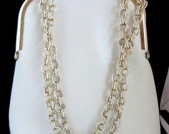 ON SALE! Vintage ILA of California Ivory Handbag, Change Purse
