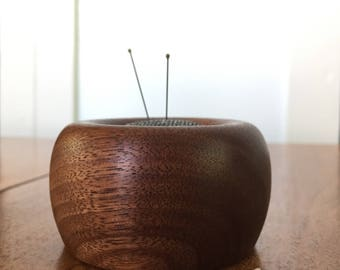 pincushion - special edition - aged walnut