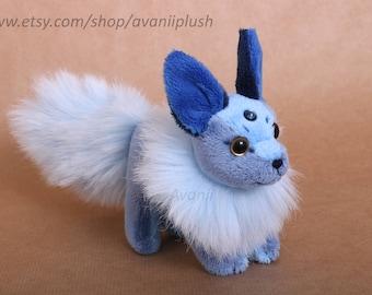 Sapphire Beanie Plush Fox