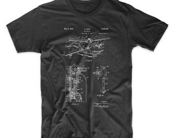 Early Helicopter Patent T Shirt, Helicopter Shirt, Aviation Shirt, Airplane Nursery, Aviation Shirt, PP0500