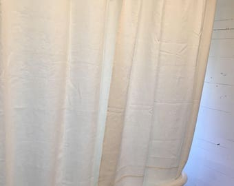 Organic Hemp Shower Curtain