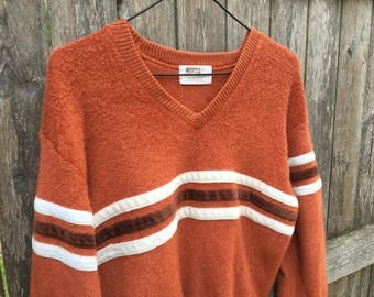 70's Montgomery Ward Striped Sweater