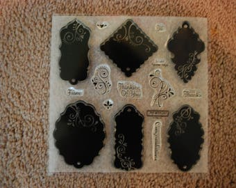 Close to my Heart stamp set D1350 Tender Tags