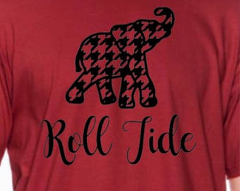 Alabama Crimson Tide Football Shirt ~ Roll Tide ~ Roll Tide Y'all ~ Alabama Football ~ Crimson Tide ~ SEC