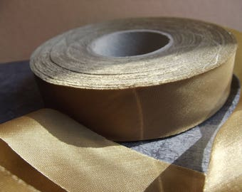 Brown Ribbon 22 mm wide x 76 ice metres for craft and sewing