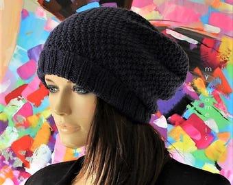 CAP Merino Wool, dark blue, Beanie