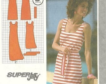 25% OFF Simplicity 9522  Pullover Summer Dress  size 6-8 Uncut