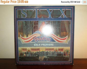 Save 30% Today Vintage 1980 Vinyl LP Record Styx Paradise Theater A&M Records Sp-3719 Very Good Condition 11202