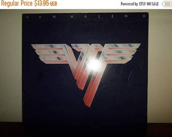 Save 30% Today Vintage 1979 Vinyl LP Record Van Halen II Excellent Condition Warner Brothers Records 11372