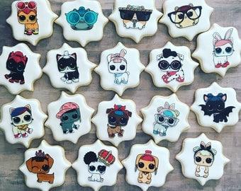 LOL surprise sugar cookies