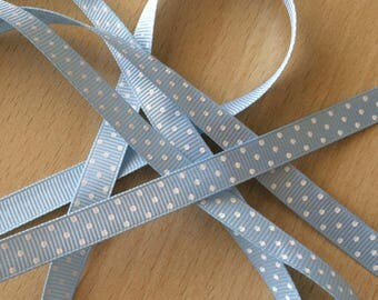 pretty Ribbon grosgrain blue 501