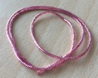 Purl curly old Pink: spring metal