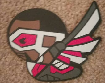 Marvel's The Avengers Falcon - Kawaii Style - Die Cut