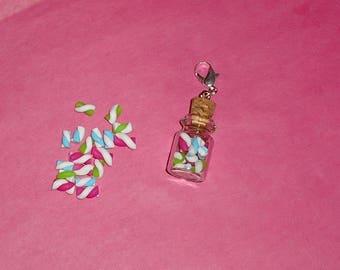 1 X Charm's mini jar and its marshmallows 25 mm