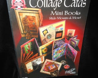 Collage Cards Mini Books Slide Mounts and More by Suzanne McNeill Design Originals book 5218