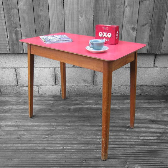Vintage Red Formica Mid Century Kitsch Table : il570xN1380022185nogh from www.etsy.com size 570 x 570 jpeg 63kB