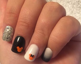 Not So Scary Nail Decals
