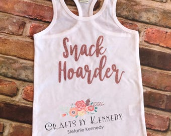 Snack hoarder / summer tank / snack time