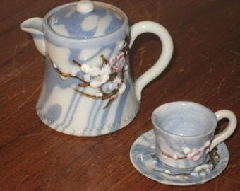 Doll's vintage Japan tea set (4 pieces)