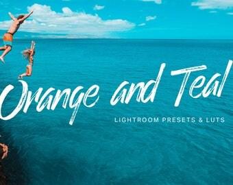 26 Orange Teal Lightroom Presets and LUTs
