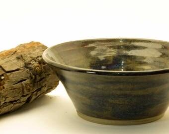 Handmade Ceramic Stoneware Bowl Green/Blue
