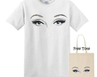 EyeT-Shirt with Free Tote
