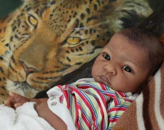 25% Off Custom Babies Your very own Thandi by Adrie Stoete. 18 Inch Newborn Boutique Doll. Optional FULL VINYL!