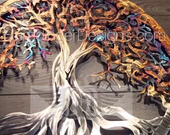 Metal Wall Art Tree of Life Wall Decor  Wall Art