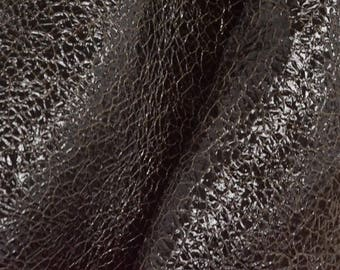 "Leather Fashion New Zealand PAC Deerskin Pre-cut 4"" x 6"" Dark Coffee Bean 3 oz DE-63249 (Sec 3,Shelf 5,B, Box 6)"