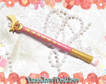 Sailor Moon Moonstick Eyeshadow Make Up Brush Cosmetics Kawaii Chibiusa Chibimoon MakeUp Eye Shadow