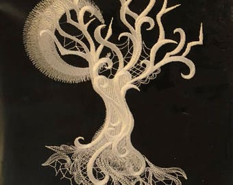 Embroidery Canvas - Tree