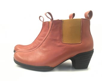 LEATHER CRAFT BOOTS