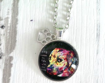 Dog Necklace, Dog Lover Gifts, Dog Jewelry, Dog Art, Dog Lover, Pet Lover Gifts, Animal Lovers, Special Gifts, Pet Lovers, Best Gifts