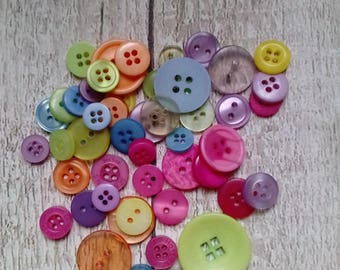 Spring buttons