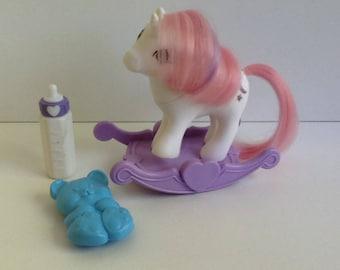 G1 My Little Pony Baby MOONDANCER: Baby Unicorn