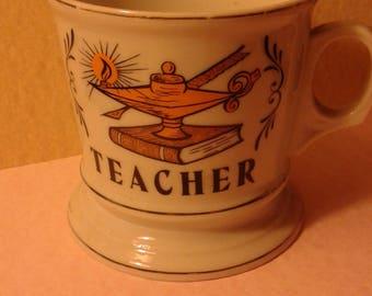 Teachers Shaving Mug