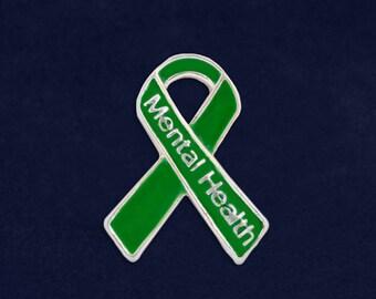 25 Mental Health Awareness Pins  (25 Pins) (P-29-13MH)