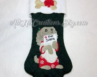 christmas dog stockings custom christmas dog pet stockings embroidered christmas stockings for dogs christmas for - Custom Christmas Stockings