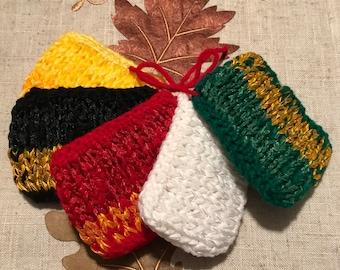 5 Color Kitchen scrub pads