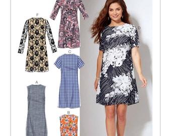 McCalls M7533 Misses'/Women's Fitted, Sheath Dresses