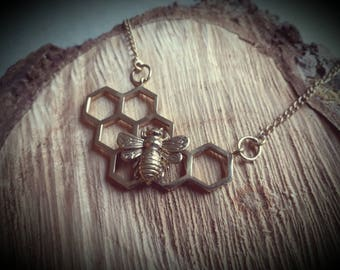 necklace *honeycomb small*