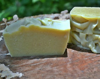 Avocado Emu Oil & Cream Face Soap - With Lavender and Carrot Seed Essential Oils